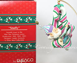 enesco 34 99 treasury of ornament snuffy seventh issue