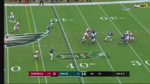 wentz tosses 4 touchdown passes eagles beat cardinals 34 7 6abc