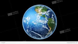 True World Map by Realistic World Map Wraps To Globe Loop On Black Stock Animation