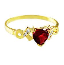 girl heart rings images U s drama gossip girl blair with paragraph garnet heart ring 24k jpg