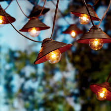 Patio Cafe Lights by Better Homes And Gardens 10 Count Vintage Cafe Shade String Lights