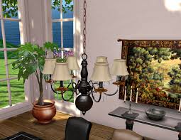 second life marketplace dinner party dining for set for 8 black