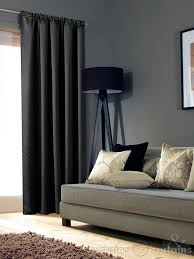 Black Curtains Bedroom Luxury 100 Blackout Black Pencil Pleat Thermal Curtains Curtains Uk