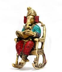 collectible india 3d moving ganesh ganpati statue hindu god