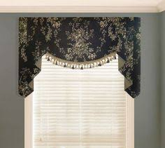Victorian Swag Curtains Versailles Classic Is Reimagined In This Elegant Curtain Set With