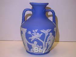 Wedgwood Vase Wedgwood Pale Blue Dip Jasper Ware Portland Vase C 1840