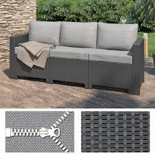 3 sitzer sofa bica colorado 3 sitzer sofa polyrattan g real