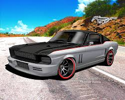 Mustang 1967 Black 1967 1968 Ford Mustang Fine Art Prints U0026 Posters By Danny Whitfield