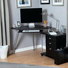 Desk At Office Max Mesmerizing Glass Corner Desk Design Modern Office Glass Corner