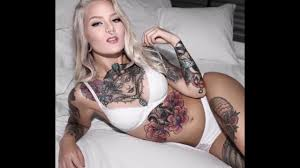 beautiful girls with tattoo tattoo models youtube