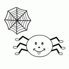 imagenes de halloween tiernas para colorear dibujo de araña infantil para colorear dibujos infantiles de araña