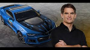 jeff gordon test drives a camaro jeff gordon to drive pace car ahead of indianapolis brickyard 400