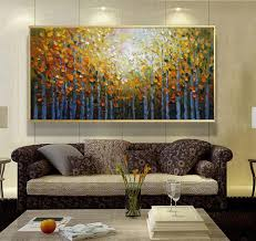 paintings for living room aliexpress com buy acrylic painting landscape modern paintings