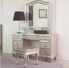 furniture beautiful small makeup vanity desk featuring fluted