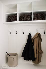 tiny vintage mudroom makeover before and after so much better