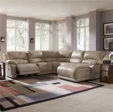 Klaussner Sectionals Five Piece Sectional Sofa With Chaise By Klaussner Wolf And