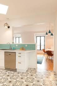 sol cuisine ouverte sol salon cuisine ouverte cuisine en image