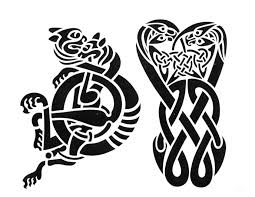 celtic viking tattoo stencil in 2017 real photo pictures images