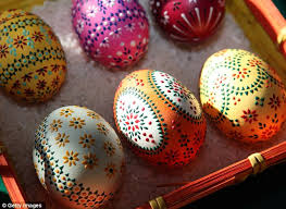 decorated eggs for sale pictured the painted easter eggs believed to ward evil