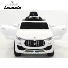 maserati levante white licensed maserati levante 6v electric kids ride on car with remote
