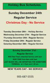 schedule st catharines transit commission