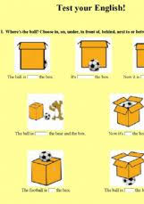 esl english exercises test your english prepositions of place
