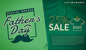 s day sales green s day sale promo vector