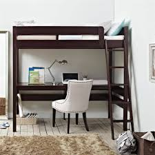 Build A Bear Bunk Bed With Desk by Dorel Living Harlan Twin Wood Loft Bed With Desk Espresso