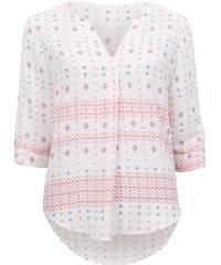 print blouse s border print blouse postie