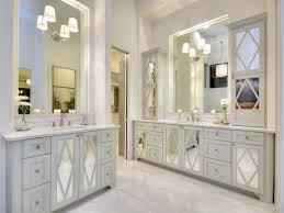 mirrored cabinet doors houzz