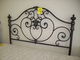 Rod Iron Headboard An Wrought Iron Headboard Loccie Better Homes Gardens Ideas
