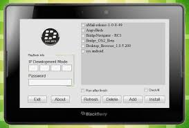 blackberry app world for android how to side load android apps on a blackberry playbook n4bb