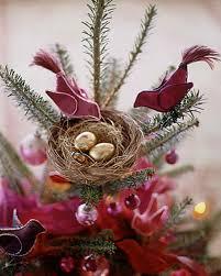 fabric bird tree topper martha stewart