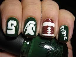 college football nail art polish etc