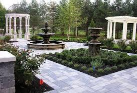 Pergola Garden Ideas Formal Garden Ideas With Pergola And And Urn