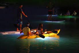 kayak lights for night paddling light the night kayaking tour vancouver breakaway experiences