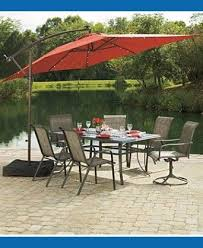 Red Rectangular Patio Umbrella Rectangular Patio Umbrella Red Nucleus Home
