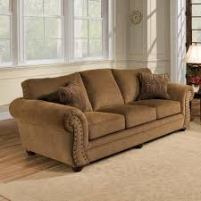 Simmons Upholstery Simmons Upholstery Troy Bronze Chenille Sofa At Menards 400