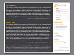 grey css grey blog free website template free css templates free css