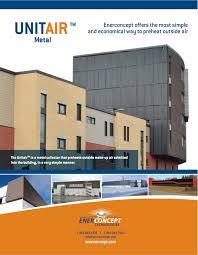 unitair transpired solar air by enerconcept shift energy llc