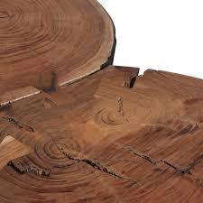 Wohnzimmer Design Holz Finebuy Couchtisch Massiv Holz Akazie 115 Cm Breit Wohnzimmer