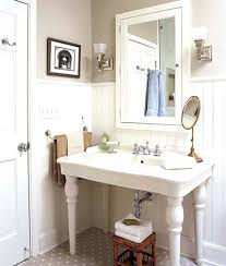 Antique Looking Vanities Old Style Sink Updated Vintage Bath Before And After This Old Old