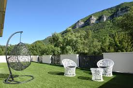 chambre d hote gorge du tarn panoramic terrace on gorges of tarn ecolodge bubbles room with