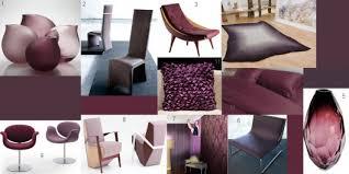 Aubergine Dining Chairs Aubergine Tones In Modern Furniture And Interior Design Room