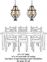 Dining Room Chandelier Size What Size Should My Chandelier Be My Design42