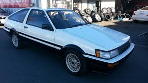 toyota corolla twin cam coupe ae86 one for sale japan car on