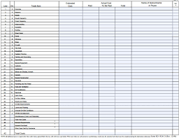 Construction Sheets Template Contractor Estimate Sheet Contractor Estimate Template Excel