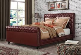 Tufted Leather Headboard Kitchen Extraordinary Upholstered Queen Bed Frame Upholstered