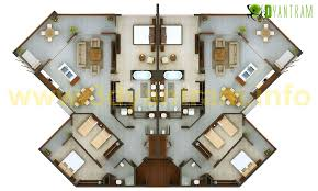 3d floor plan services residential 2d floor plan services yantram architectural design
