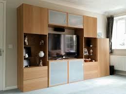 Besta Dvd Storage by Ikea Besta Storage System Including Tv Cabinet Oak Effect Finish